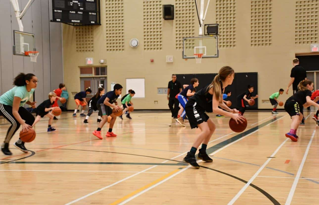 IBSA Basketball Training